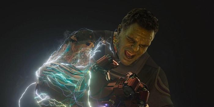 Smart Hulk's rechterarm