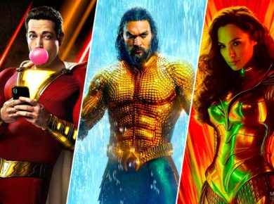 Shazam, Aquaman en Wonder Woman
