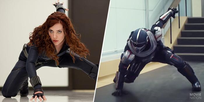Taskmaster kopieert Black Widow