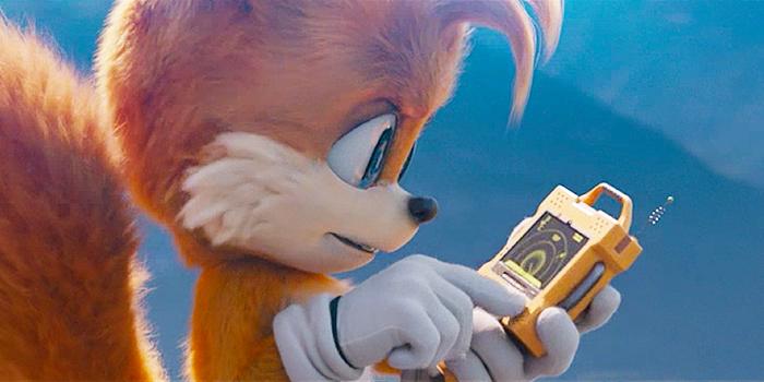 Tails op zoek naar Sonic