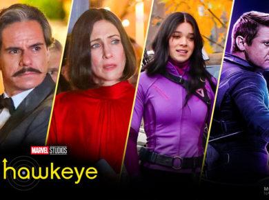 Swordsman, Eleanor, Kate-Bishop en Hawkeye