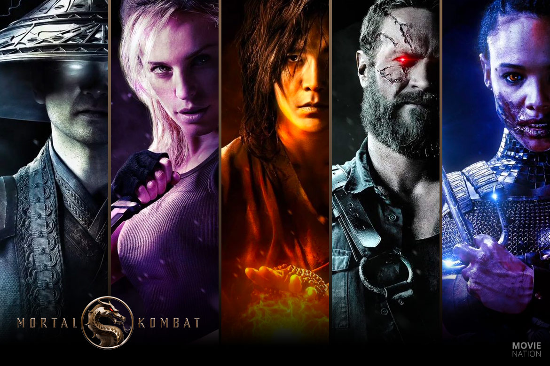 Mortal Kombat 2021 karakters
