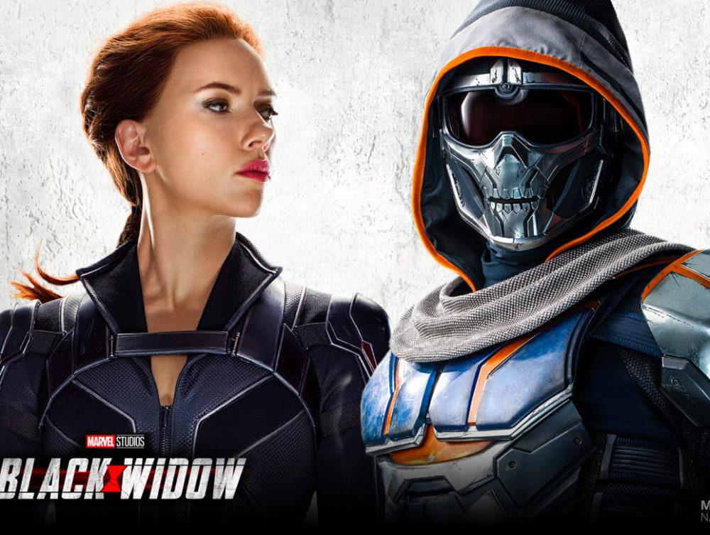 Wie is Taskmaster in Black Widow?